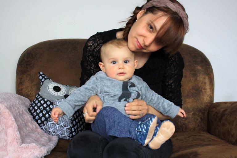 Leon et maman