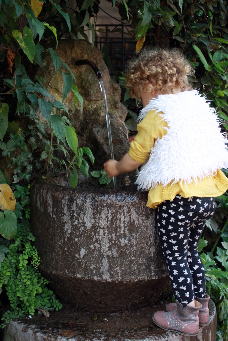 fontaine laver ses mains