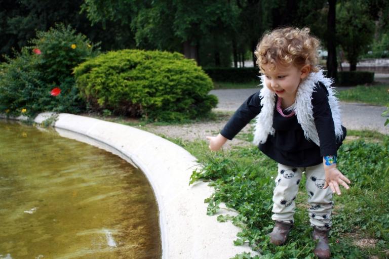 portrait violette borghese parc